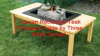 Outdoor Tables, Teak Wood Patio Tables For Deck Or Garden.
