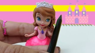 How To Draw Disney Princess Sofia The First Castle Step By Step