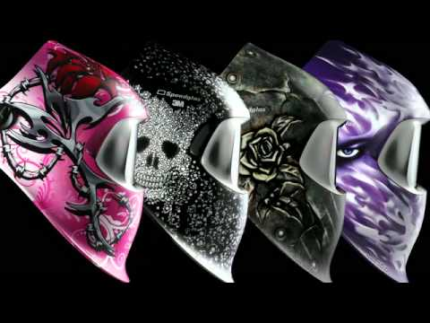 Custom Welding Helmets >> The 3M™ Speedglas™ 100 Series Graphic Welding Shields – Women's Collection - YouTube