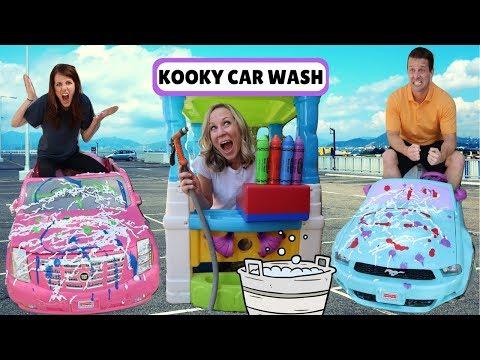 Kooky Car Wash & the Wacky + Crazy Car Stores