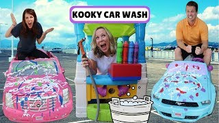 Kooky Car Wash & the Wacky + Crazy Car Stores