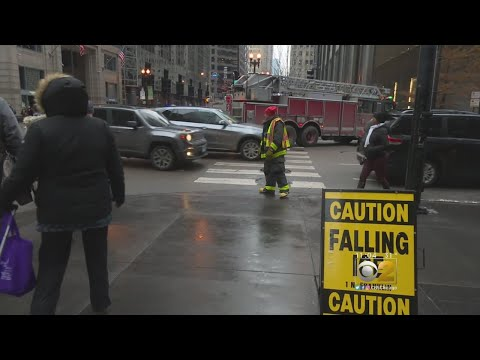Mick Lee - Watch out for Falling Ice in Chicago