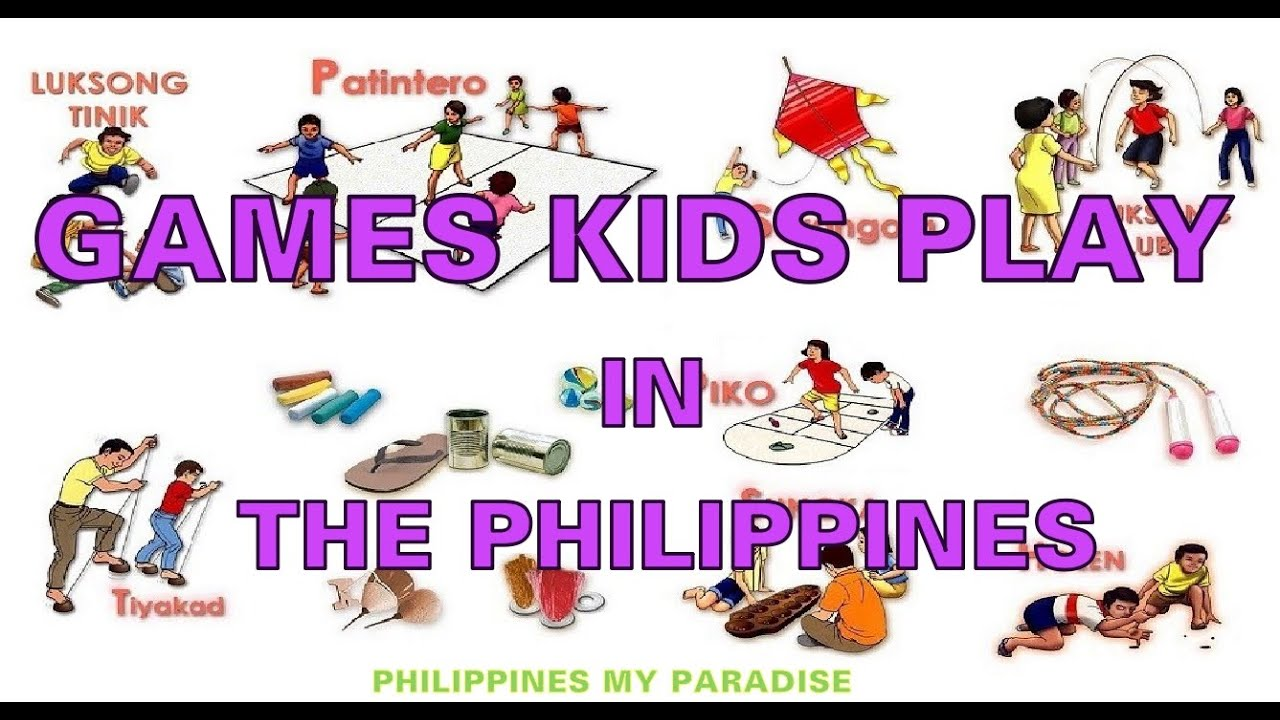 Games philippine traditional Top 10