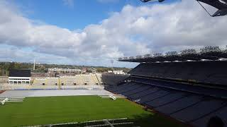 Nice view of Croke Park from 40 feet above