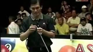 Pool Master   Chao Yang Vs Reyes Bustamante