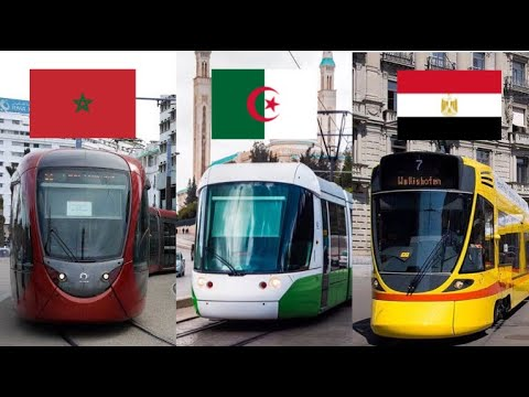 MOROCCAN RAILWAYS 🇲🇦 vs ALGERIAN RAILWAYS 🇩🇿 vs EGYPTIAN RAILWAYS 🇪🇬 2021