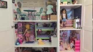 Huge American Girl Doll House Tour