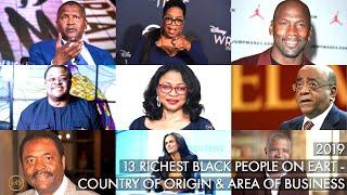 Aliko Dangote, Mike Adenuga, Oprah Winfrey, Robert Smith World's Black Billionaires of 2019