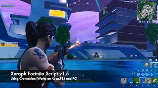 Xeraph v1.5 Cronusmax Fortnite (SEASON 9) Aim Abuse | Aim Assist | Aimbot)
