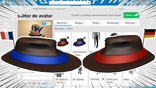 TWO ITEMS FOR FREE AT ROBLOX! (International Fedora)