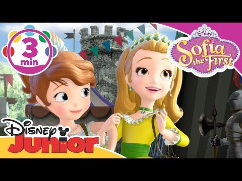 Sofia The First | The New School Song 🎶 | Disney Junior UK
