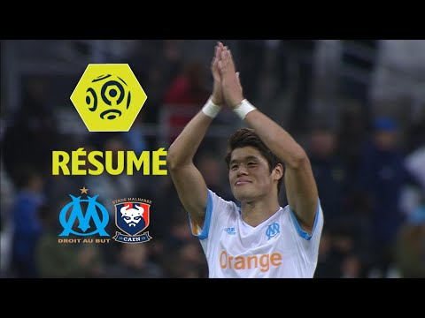 Olympique de Marseille - SM Caen (5-0)  - Résumé - (OM - SMC) / 2017-18
