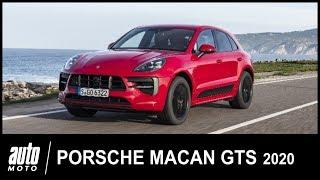2020 Porsche Macan GTS 380 ch ESSAI POV Auto-Moto.com