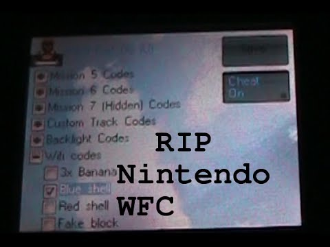 Using WiFi <b>Cheats</b> in <b>Mario Kart DS</b> on Last day of WFC - YouTube