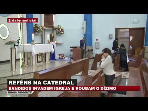 PR: Bandidos invadem igreja e roubam dízimo