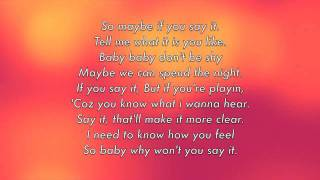 SAY IT with LYRICS by RIHANNA