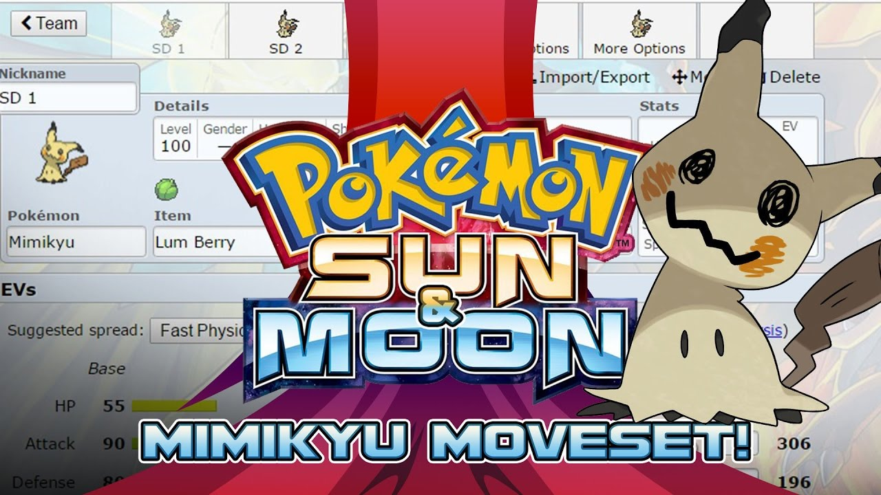 how to catch mimikyu sun