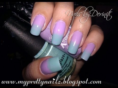 Easy ombre gradient nail art tutorial simple sponge technique easy ombre gradient nail art tutorial simple sponge technique youtube prinsesfo Image collections