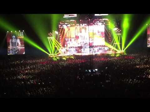 Kiss konsert på Tele2 arena 6/5 2017