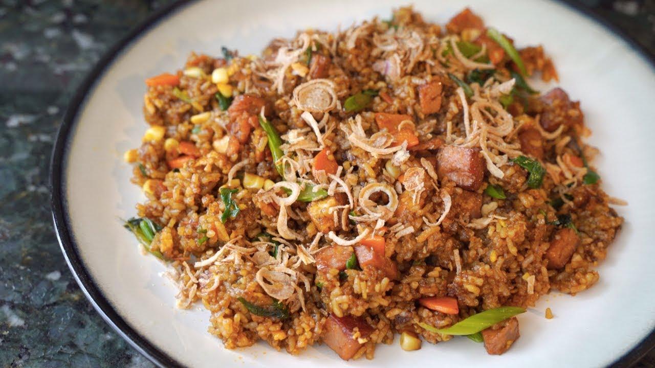 Indonesian Nasi Goreng Recipe Restaurants Secret Ingredient Tastiest Asian Fried Rice 4k Asmr Youtube