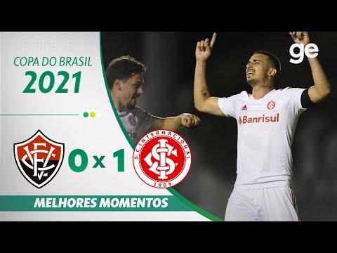 VITÓRIA 0 X 1 INTERNACIONAL | MELHORES MOMENTOS | 3ª FASE COPA DO BRASIL  2021 | ge.globo - YouTube