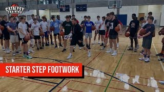 Starter Steps/Drop Pivots - Basketball Myths