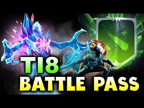 TI8 BATTLE PASS! - THE INTERNATIONAL 2018 COMPENDIUM DOTA 2