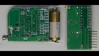 Обзор пульта дистанционного управления на базе приемника HY-DJM-5V