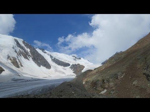 Горный Алтай Заброска в альп лагерь Ледник Б Актру Часть 2