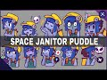 SPEEDPAINT⭐ space janitor puddle (stickers)