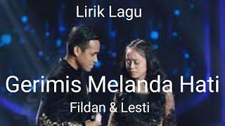 Download Fildan Dan Lesty Romantis Banget (Lirik Lagu Gerimis Meland Hati)