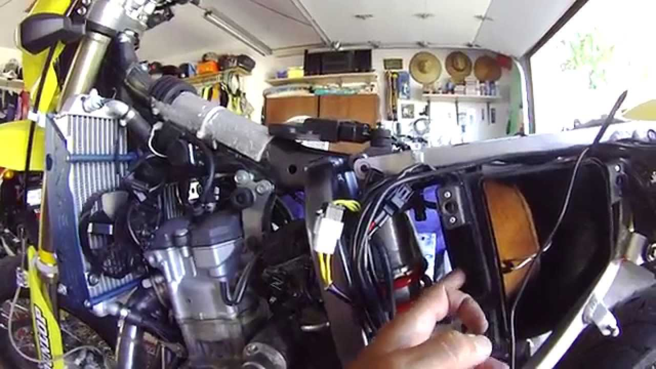 Suzuki Drzs Idle Adjustment