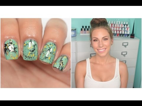 Chit Chat Nail Art With Me | Turquoise Stone Nails