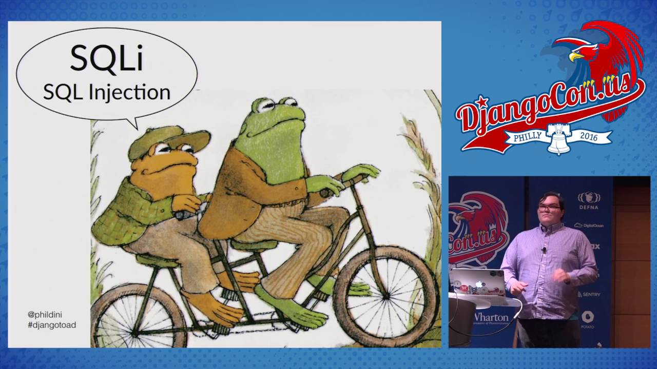 Image from Frog and Toad Learn About Django Security