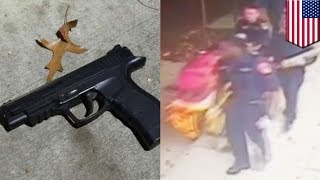 fail mężczyzna prbuje obrabować 3 policjantw w cywilu