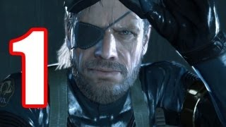 Video Metal Gear Solid 5 WALKTHROUGH PART 1 OPENING + FIRST MISSION 【PS4】 Demo Gameplay No commentary MGS5 download MP3, 3GP, MP4, WEBM, AVI, FLV November 2018