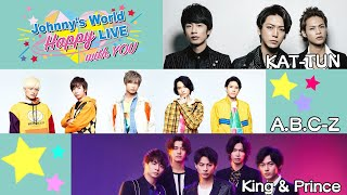 Johnny's World Happy LIVE with YOU - March 30, 2020 8pm (KAT-TUN / A.B.C-Z / King & Prince)
