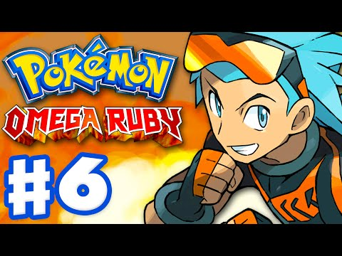 Pokemon Omega Ruby and Alpha Sapphire - Gameplay Walkthrough Part 6 - Gym Leader Brawly!