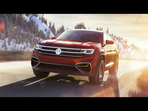 Volkswagen Atlas Cross Sport The concept's hybrid drivetrain gives a choice of five driving modes