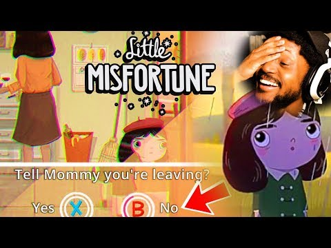 THE CUTEST LITTLE HORROR GAME THERE IS   Little Misfortune DEMO