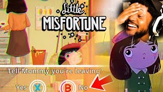 THE CUTEST LITTLE HORROR GAME THERE IS | Little Misfortune DEMO