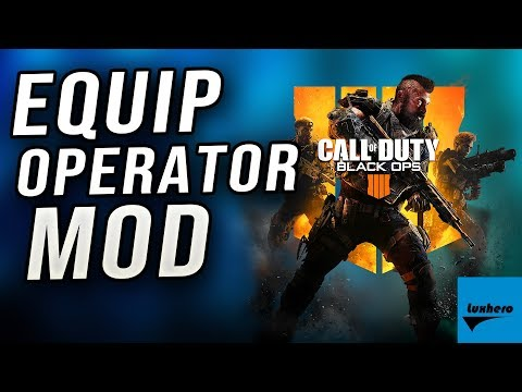 Black Ops 4 - How to Equip Operator Mod