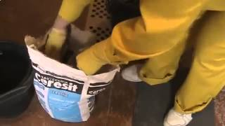 Видеоуроки по ремонту квартир Как приготовить раствор Церезит СМ 111