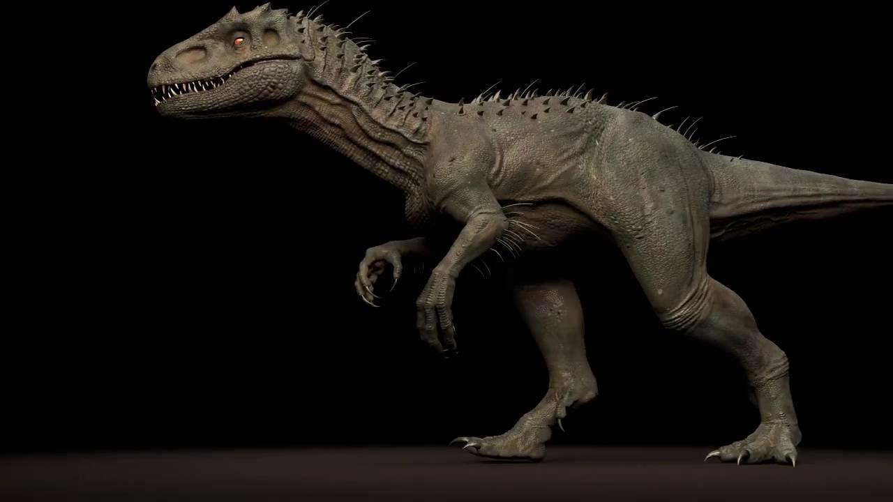 Irex Dinosaur Walk Cycle by Truong & Tuan - YouTube