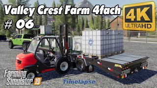 Animals in The Valley Crest Farm 4fach | Farming Simulator 19 | Time Lapse #06 | 4K(UltraHD)