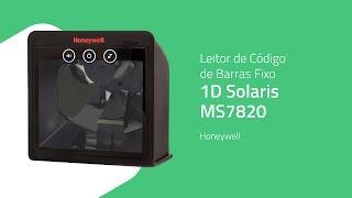 Leitor de Código de Barras Fixo 1D Solaris MS7820 - Honeywell - ZIP Automação