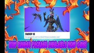 FORTNITE NEW UPDATE NEW RAVAGE SKIN PACKAGES & NEW IRON BREAK PICKAXE AVAILABLE NOW