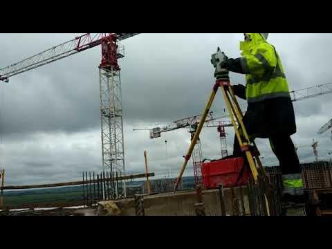 Сопровождение строительства: разбивка и съемка опалубки