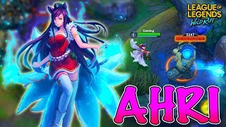 Ahri Gameplay #3 - League of Legends: Wild Rift (Android/IOS)