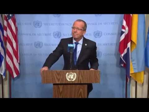 Situation in Libya - Security Council Media Stakeout